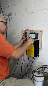 Hooking up power system