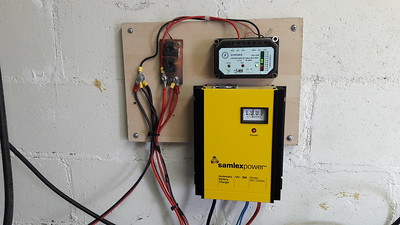 Samlex charger and DC distribution , 60 amps