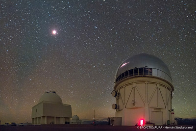 Lunar Eclipse September 2015 from Cerro Tololo