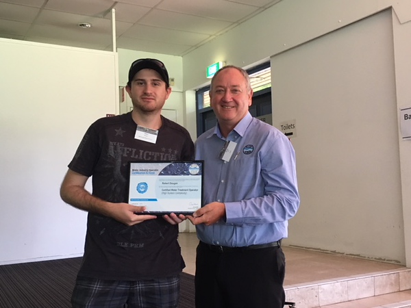 Ben Nurflus, Whitsunday Regional Council with George Wall, WIOA