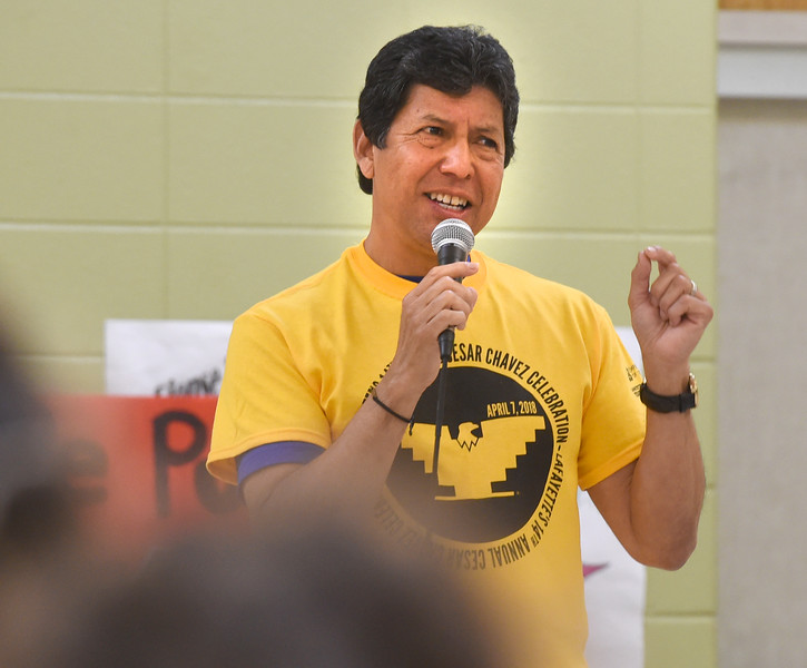 Cesar Chavez Day in Lafayette