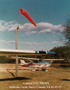Cessna 172C N8249X _Melville 11-13-77_0003AB copy
