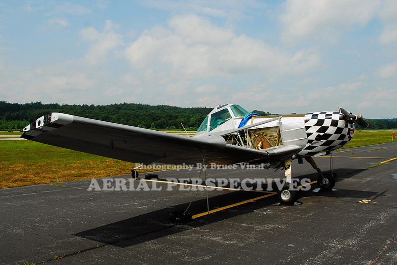 N6872G - 1973 Cessna 188B <br /> 72G getting a new coat of paint to be transformed into a P-51 Mustang