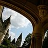 Logis royal, vue sur collégiale Saint Ours