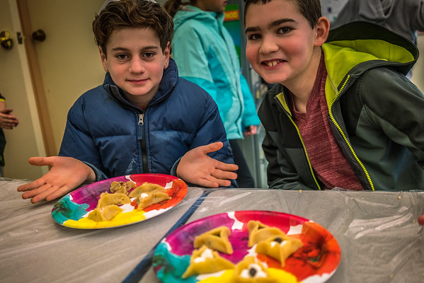 Chabad Hebrew School - Hamentashen 3-5-17