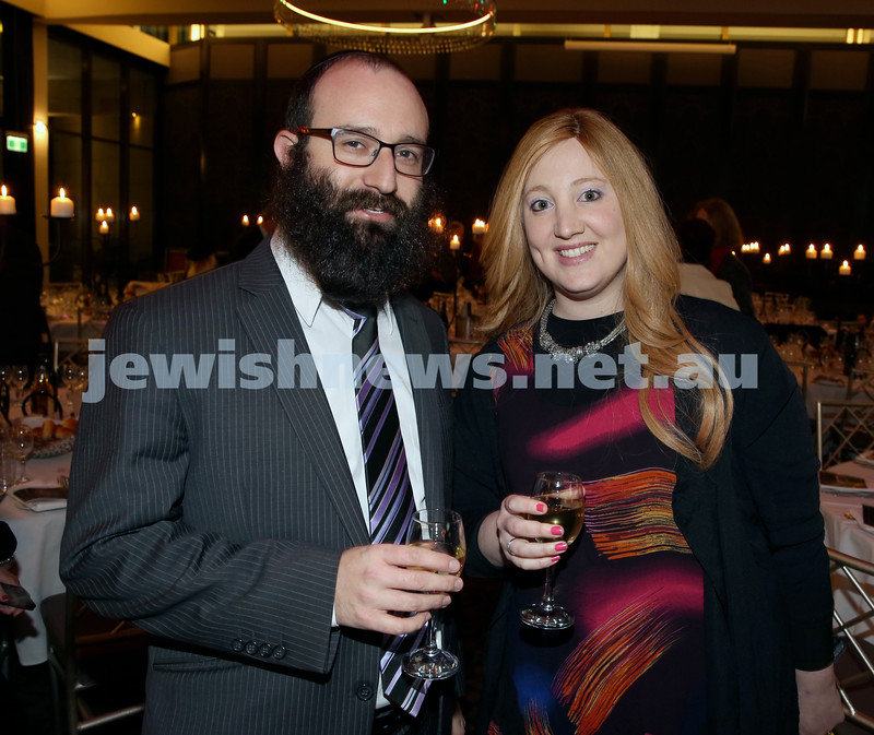 Chabad North Shore's Gala Dinner. Eli & Keren Gescheit.