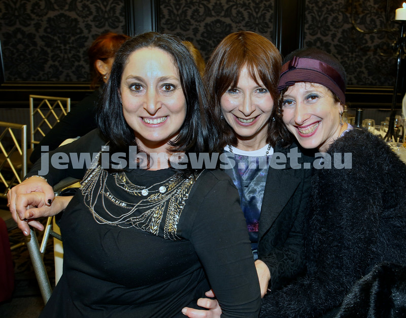 Chabad North Shore's Gala Dinner. Rochel Yedid,Elise Quittner, Michelle Joseph.