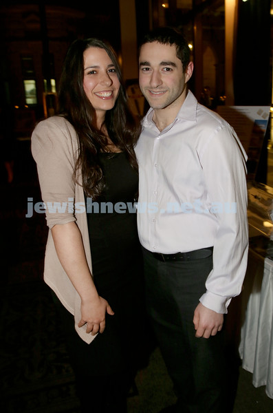 Chabad North Shore's Gala Dinner. Naomi & Yossi Barukh.