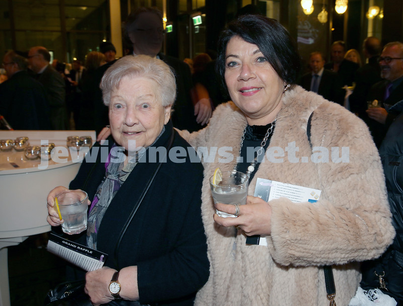 Chabad North Shore's Gala Dinner. Ethel Bonet & Barbara Rothenberg.