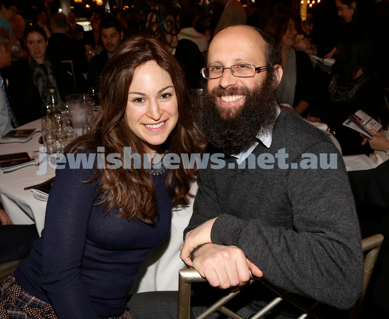 Chabad North Shore's Gala Dinner. Rivka & Shaul Schapiro.