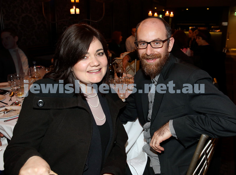 Chabad North Shore's Gala Dinner. Sindy & Eli Lowinger.