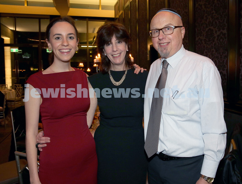 Chabad North Shore's Gala Dinner. Rochelle & Mylene Ritchie, Peter Zipkis.