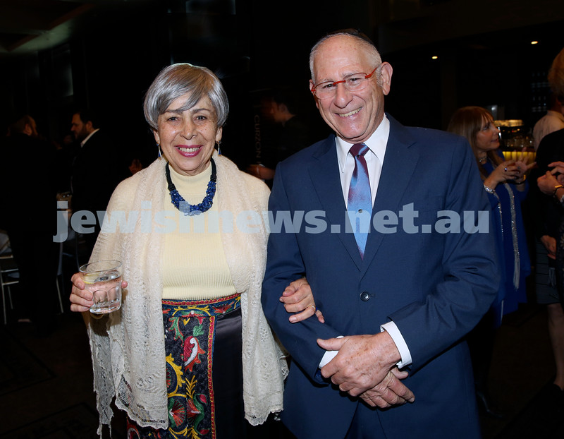 Chabad North Shore's Gala Dinner. Sarah & Peter Sinclair.