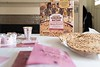 Matzah and Haggadah, pictured here, along with a Seder placemat, a how-to guide, a kiddush cup, kosher wine and a game for the famly will be part of the Seder-At-Home kits that Chabad of Brattleboro is putting together for Passover.
