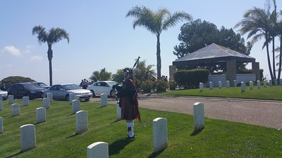 Van Lennep Memorial at Fort Rosecrans