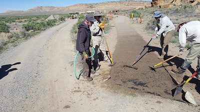 Wilderness Volunteers: 2017 Chaco Culture National Historic Park Service Trip