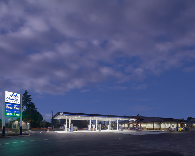 gas station ext 4 16x20