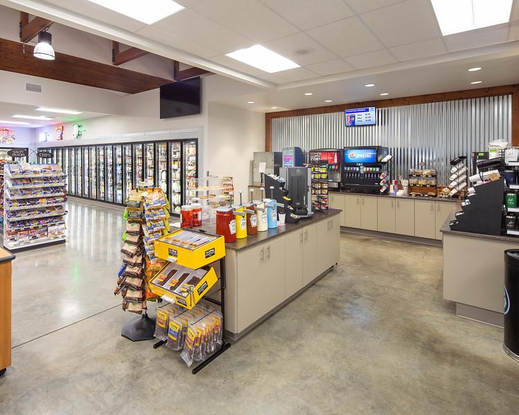 Gas station interior 2 16x20