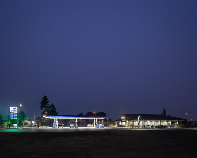 GAs station ext 5 16x20