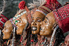 Portraits of Wodaabe dancers