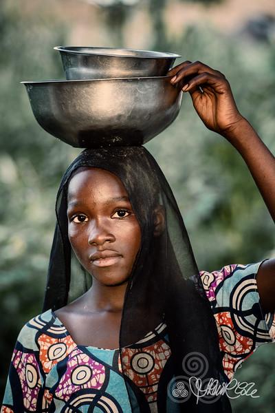 Young Fulani girl