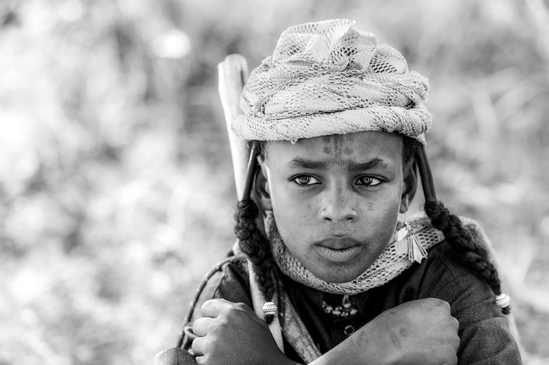 Fulani beauty in a young male, Chad