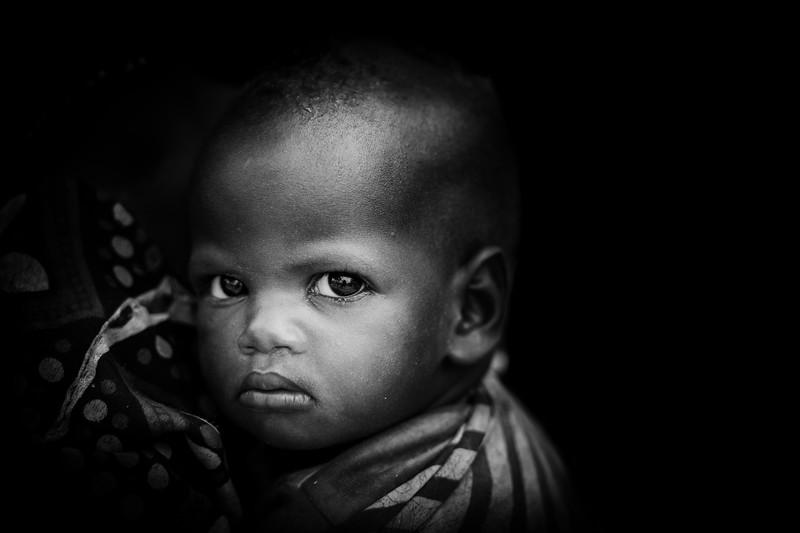 Baby Wodaabe child