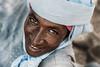 Smiling Fulani man