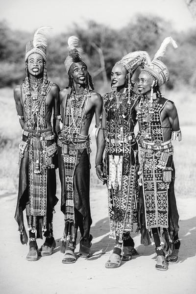 Sudosukai tribes men'Take us we're yours'