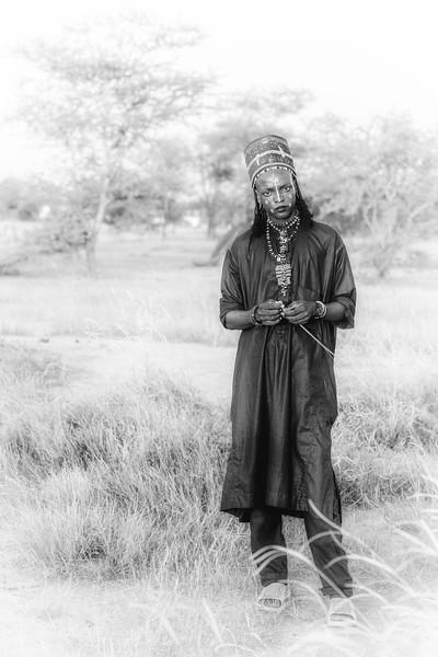 Young Wodaabe tribesman
