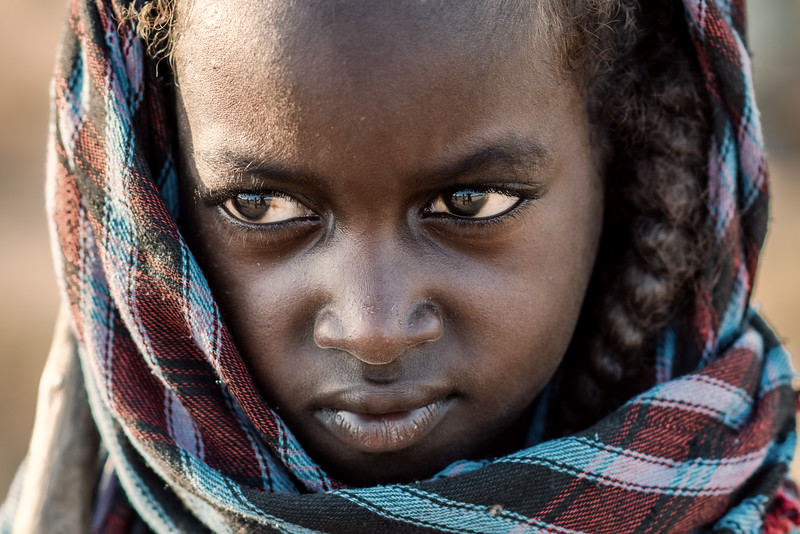 Wodaabe child of the Fulani