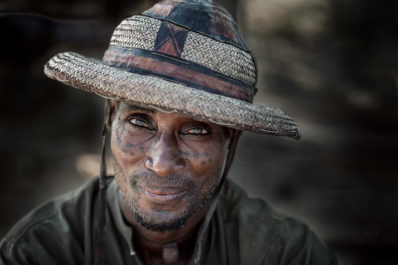 Portrait of a Wodaabe man