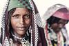 Portraits of Fulani girls