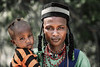 Wodaabe father and son