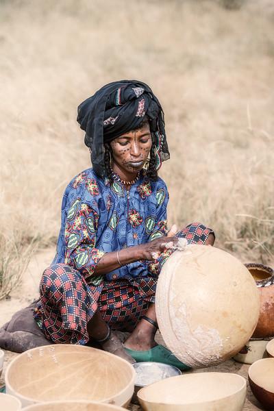 Japto woman at work