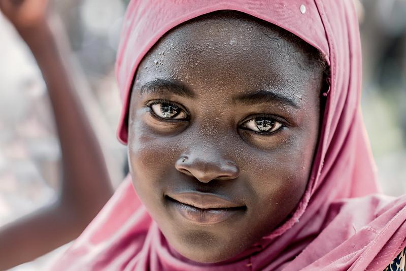 Beautiful Fulani girl, Chad