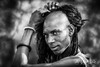 Sudusukai tribesman of the Wodaabe, Chad