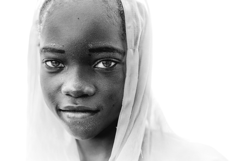 Beauty in a Fulani girl