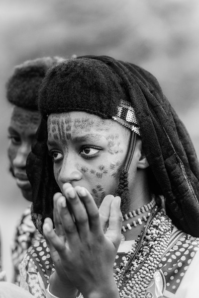 Girls of the Wodaabe, Chad