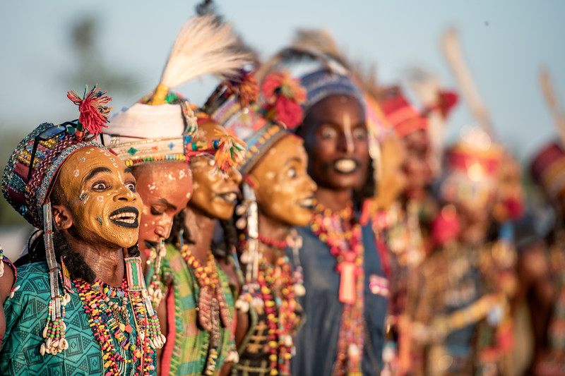 The colours of the Wodaabe