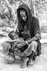 Mother and child of the Wodaabe