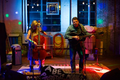 Abe Partridge & Courtney Blackwell 2.16.18 - Slowboat Brewing Co - Laurel, MS