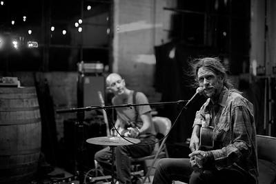 Grayson Capps & Corky Hughes 9.14.17 at Slowboat Brewing Co - Laurel, MS