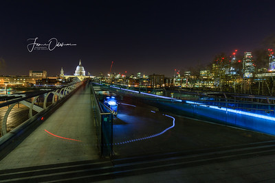 Cityscapes along River Thames in London