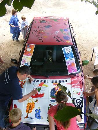 Chagall-Ausstellung -Aug. 2009