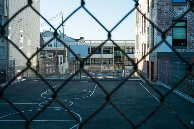 Schoolyard- Golden Gate Avenue