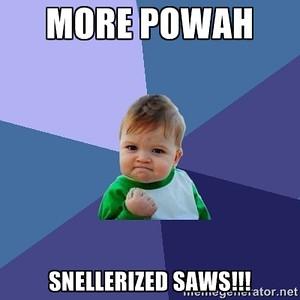 Snellerized Saws Meme
