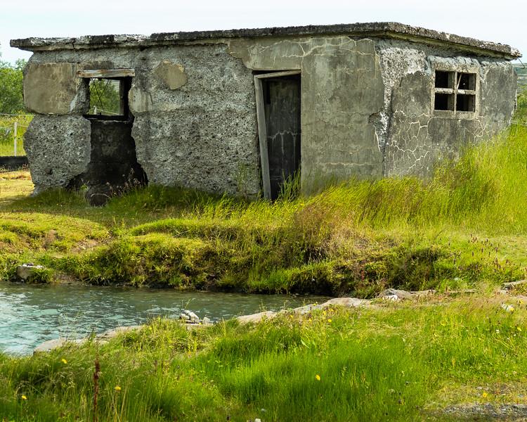 Abandoned building Iceland