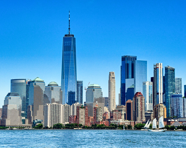 Freedom Tower Skyline