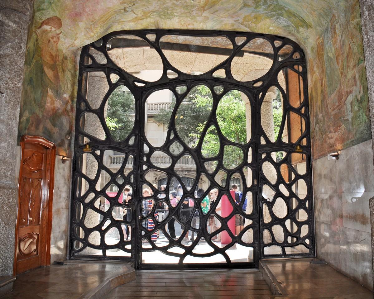 Gaudi's Casa Mila Doors